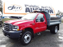 2003 FORD F450 SUPER DUTY DUMP TRUCK